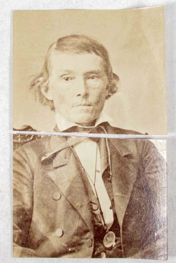 14: ORIGINAL EARLY PHOTO OF ALEX H. STEPHENS - VICE PRE