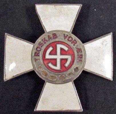 201: GERMAN NAZI 1ST CLASS DANISH SCHALBURG CROSS