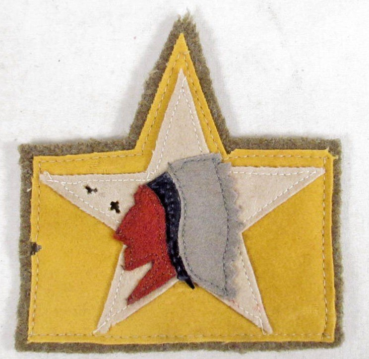 204: US WW1 ARMY 2ND DIVISION SHOULDER PATCH