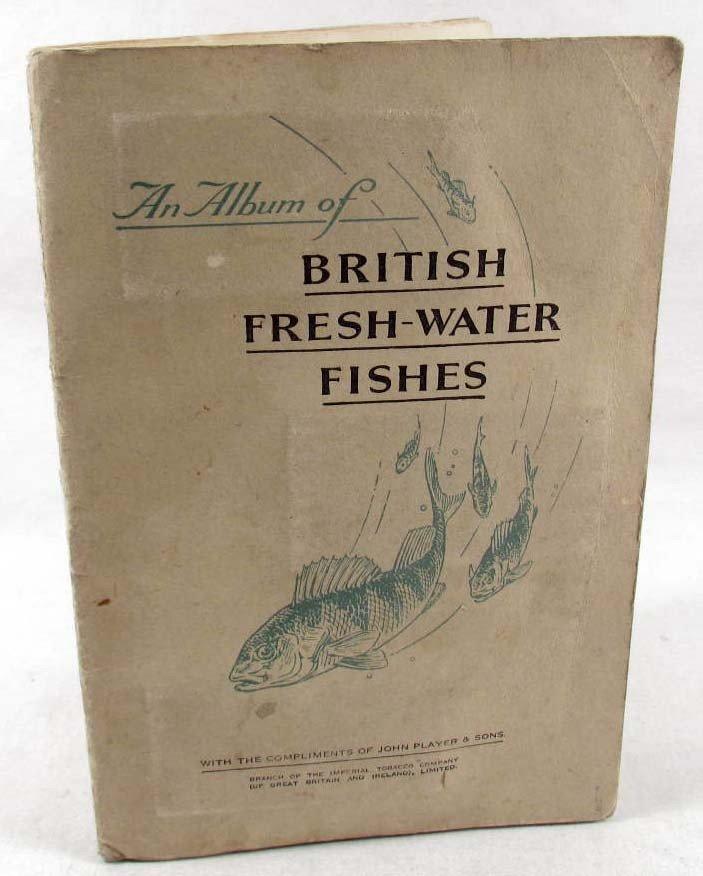352: 1933 PLAYERS CIGARETTE CARD ALBUM - BRITISH FRESH-