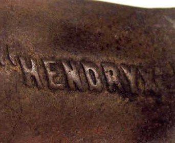376: EARLY HENDRYX  FISHING REEL - 3