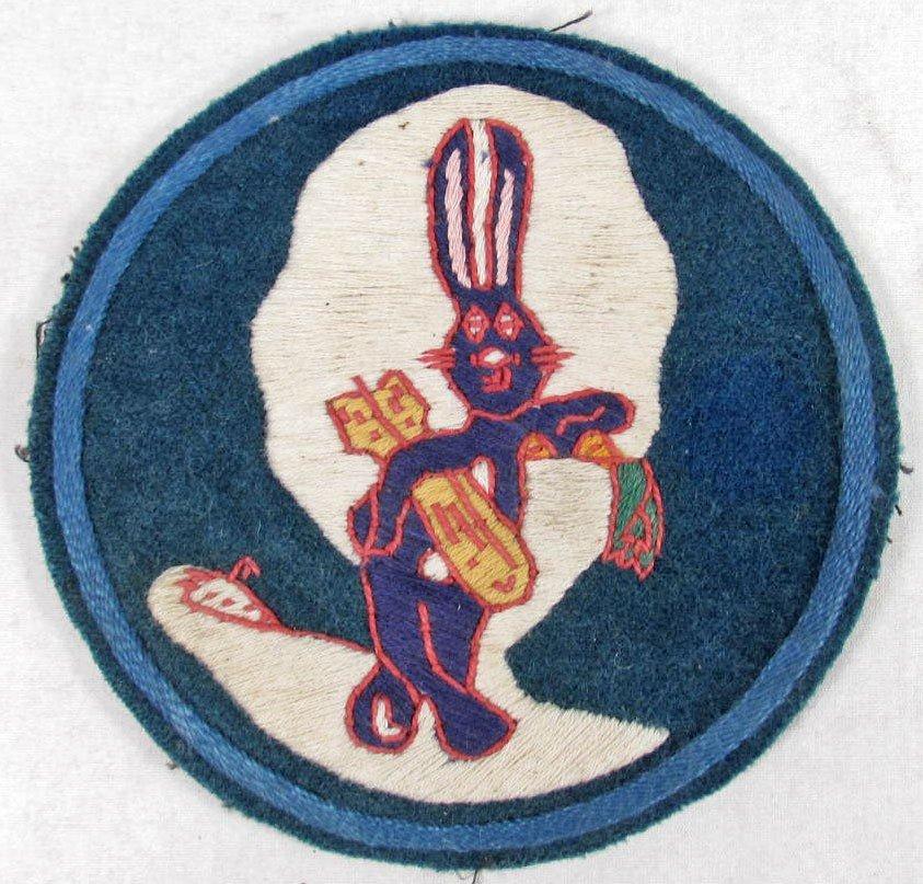 598: USAAF WW2 ARMY AIR CORPS BUGS BUNNY BOMB SQUADRON