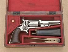 123: Colt Root side hammer spur trigger revolver,