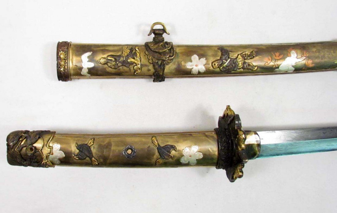 16: RARE JAPANESE SAMURAI / KATANA SWORD