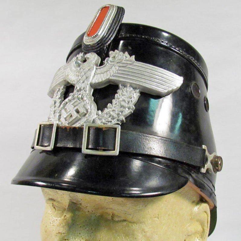 103: GERMAN NAZI POLICE SHAKO HAT