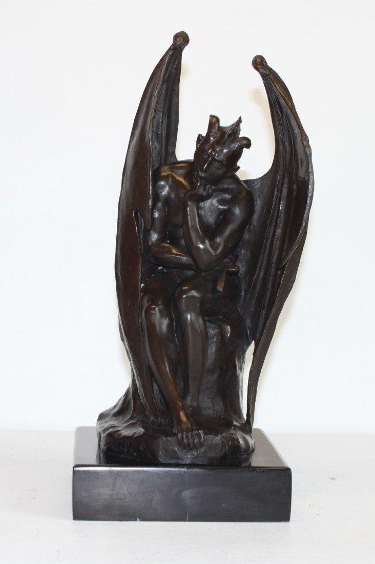 11: SM196 Superior Bronze Gargoyle, After Roleache