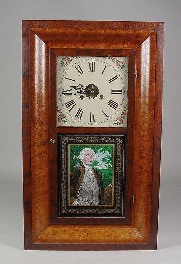 21: FY184 Connecticut Ogee Shelf Clock ?19th Century.