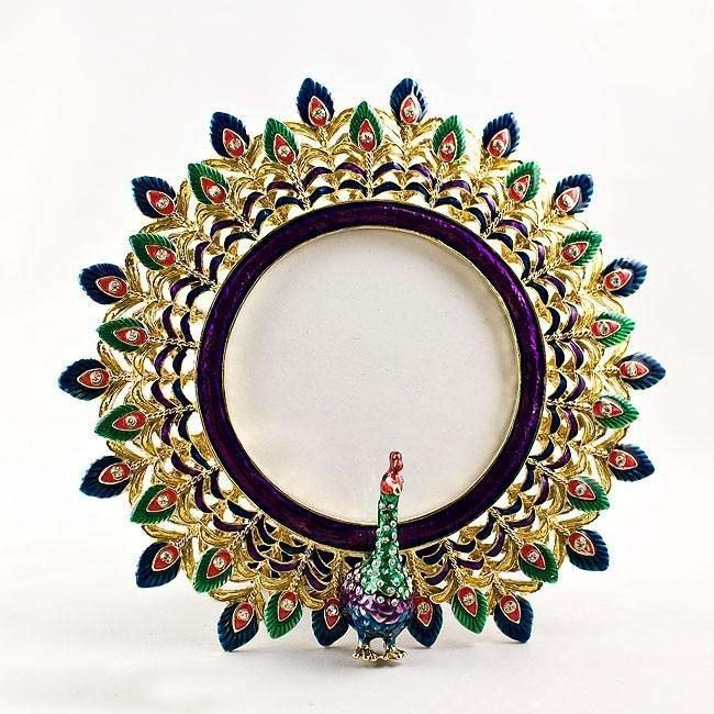 24: MWF1471 Faberge Photo Frame, Antique Stlye with Swa
