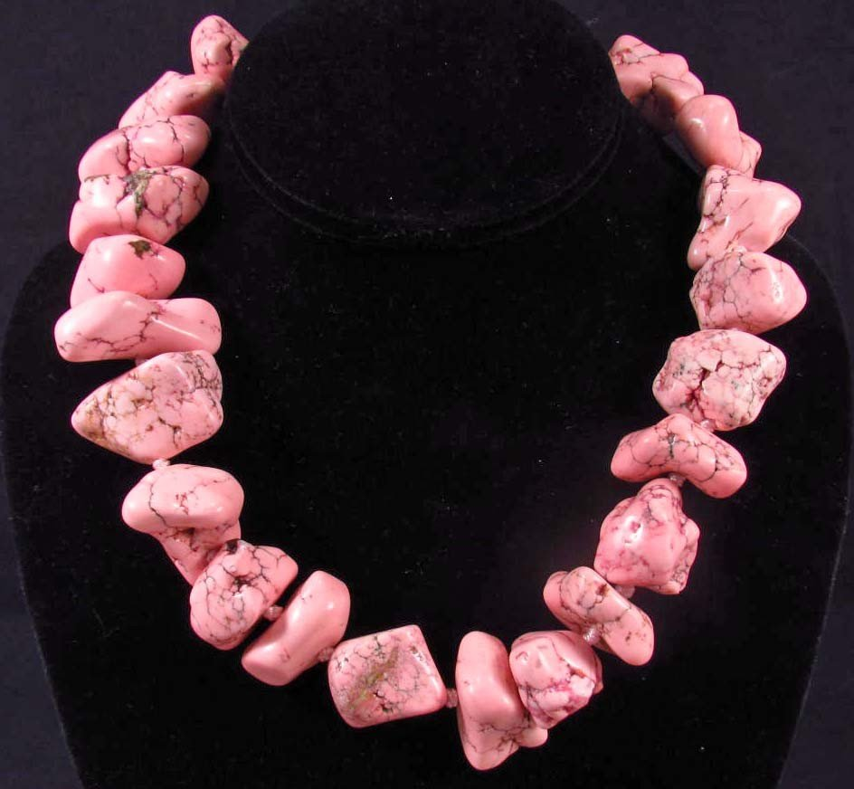 4: PINK TURQUOISE NECKLACE