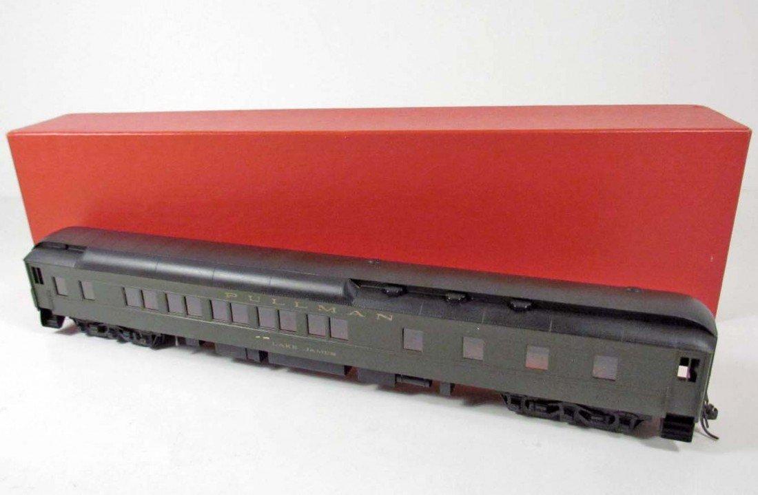 352: S. SOHO & CO. BRASS TRAIN - LAKE JAMES PULLMAN SLE