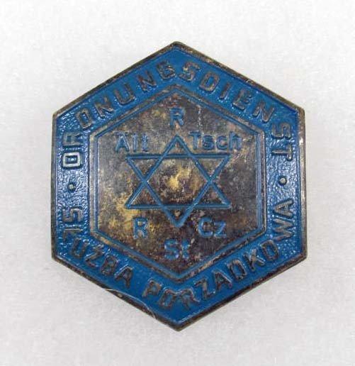 354: GERMAN NAZI HOLOCAUST JEWISH CONCENTRATION CAMP BA