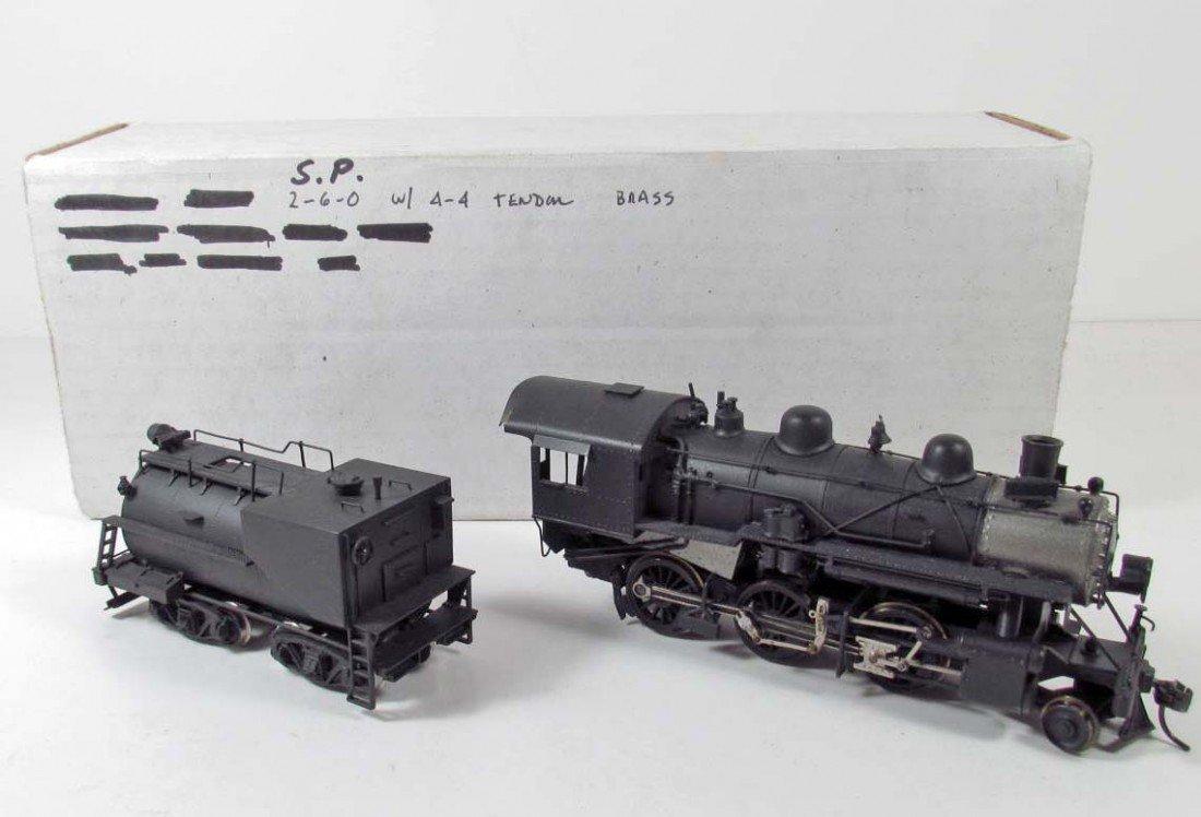 366: VINTAGE SOUTHERN PACIFIC TRAIN ENGINE & TENDER - U