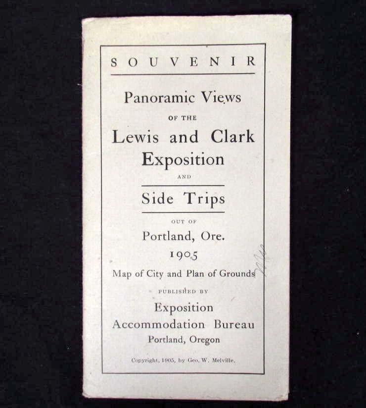 3: 1905 PANORAMIC VIEWS OF THE LEWIS & CLARK EXPOSITION