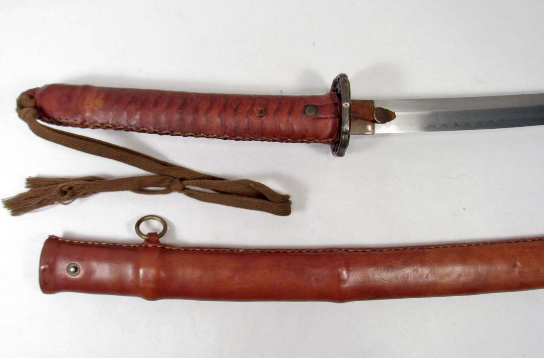 15: JAPANESE ARMY MILITARY OFFICERS SAMURAI SWORD & SCA