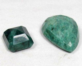12: 7171 - LOT OF 225.5 CT. NATURAL EMERALDS