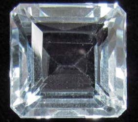 8745 - 28.96 CT. AAA AQUAMARINE BLUE QUARTZ GEMSTON