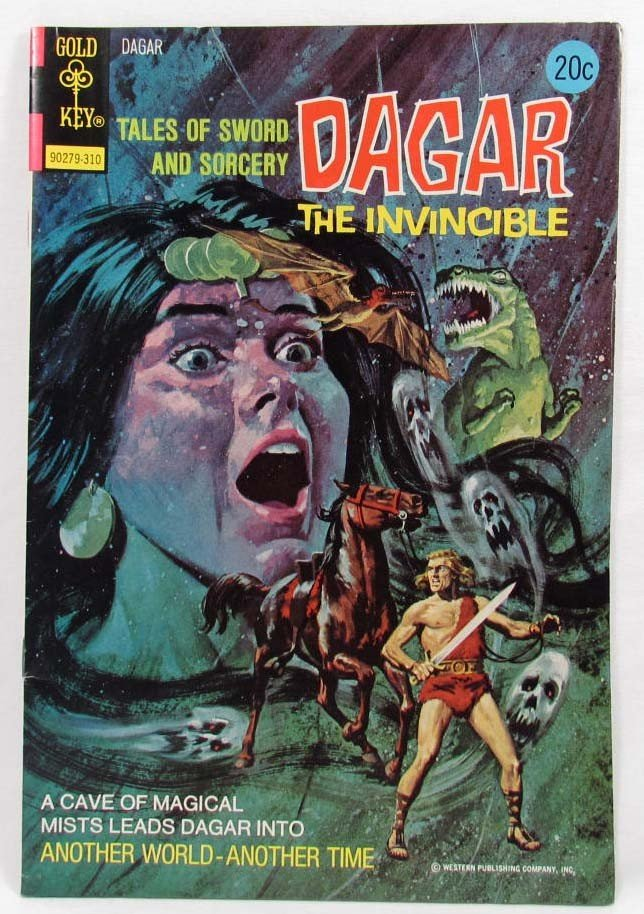 6: 5985 - 1973 DAGAR THE INVINCIBLE NO. 5 COMIC BOOK