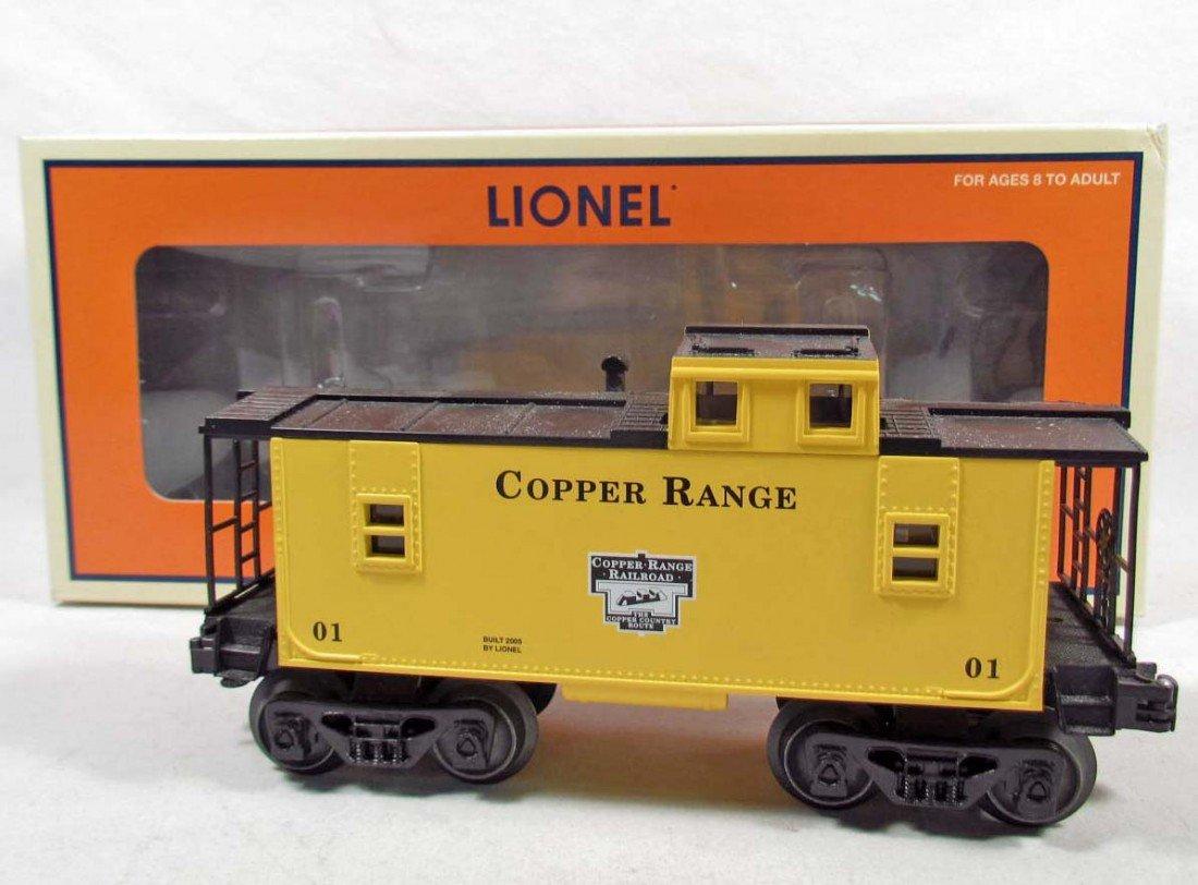 7: LIONEL COPPER RANGE CABOOSE TRAIN IN ORIGINAL BOX