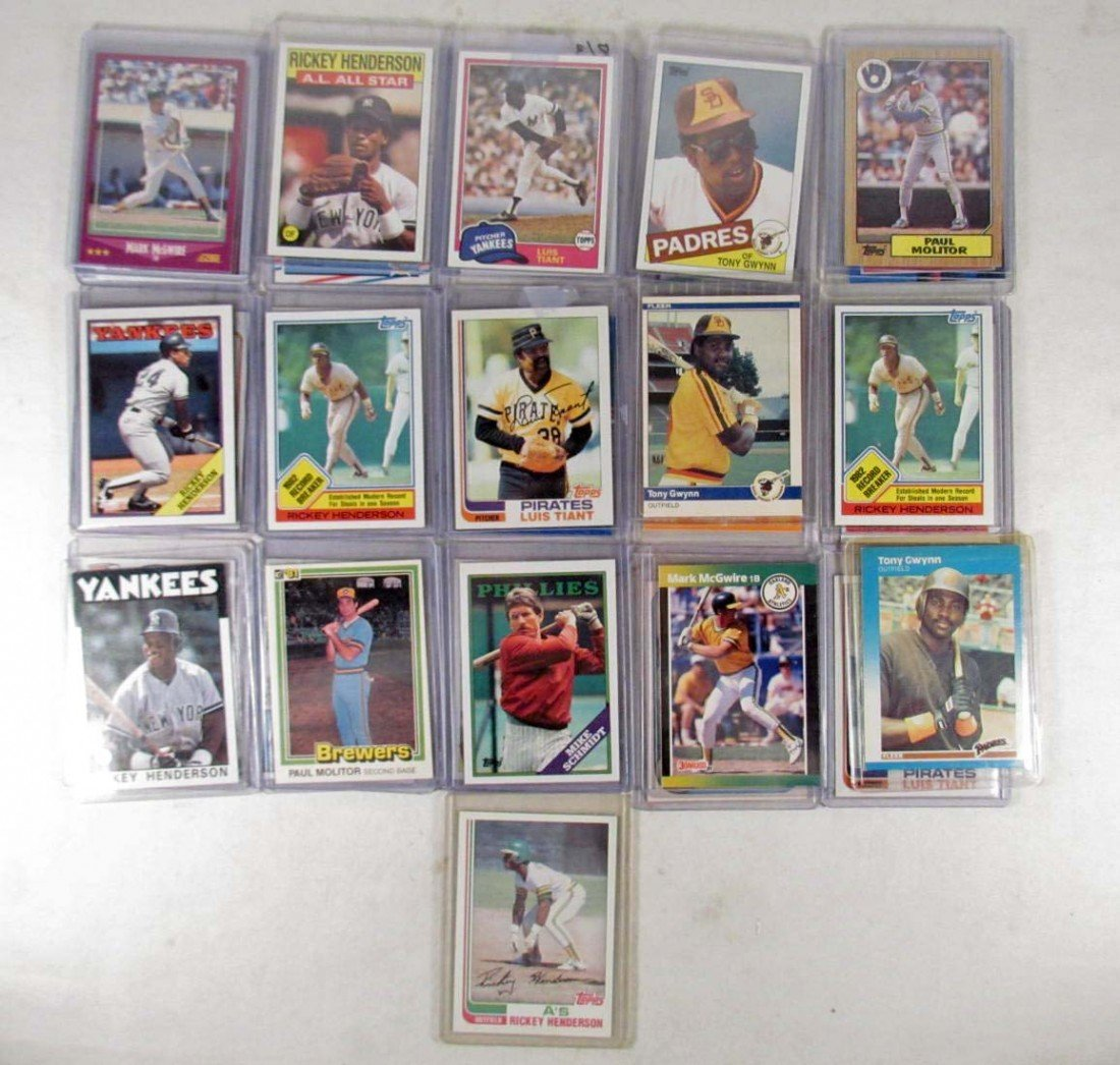 14: LOT OF APPROX. 31 VINTAGE BASEBALL CARDS - MOSTLY T