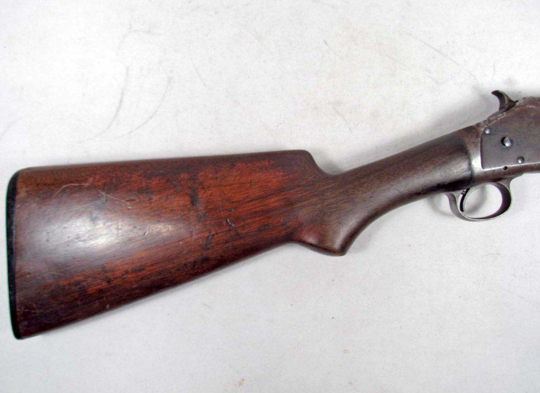 556: ANTIQUE WINCHESTER 16 GAUGE OLD WEST PUMP SHOT GUN - 2