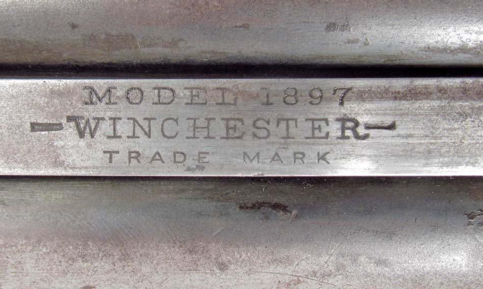 556: ANTIQUE WINCHESTER 16 GAUGE OLD WEST PUMP SHOT GUN - 4