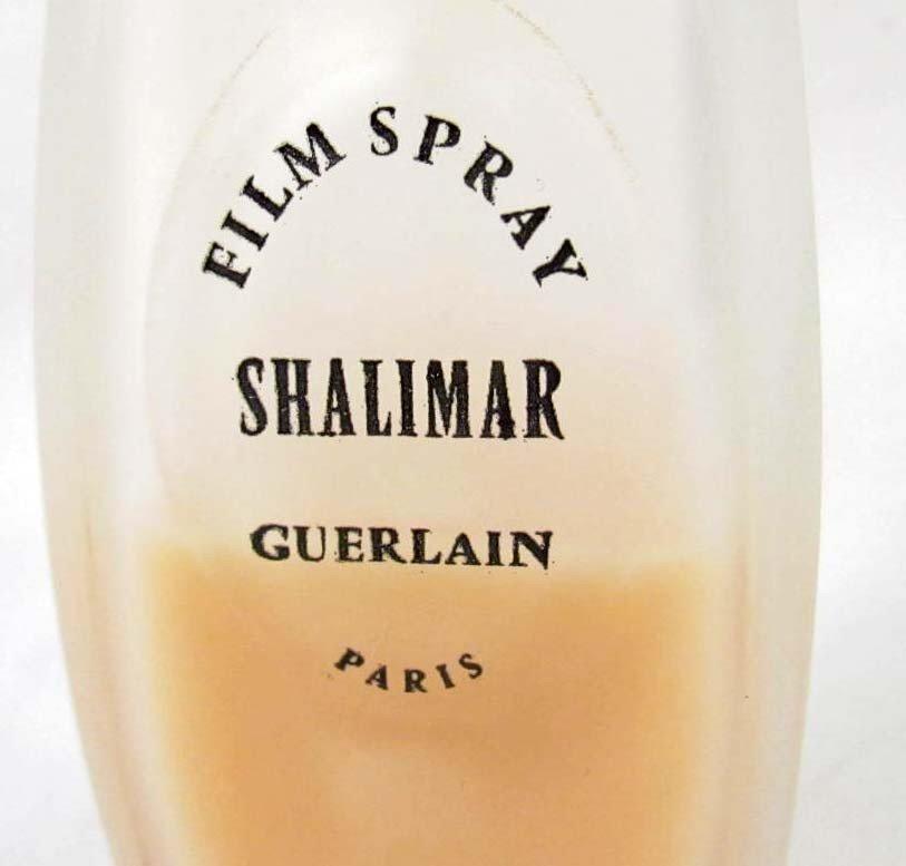 4: RARE 1968 SHALIMAR FILM SPRAY PERFUME BOTTLE