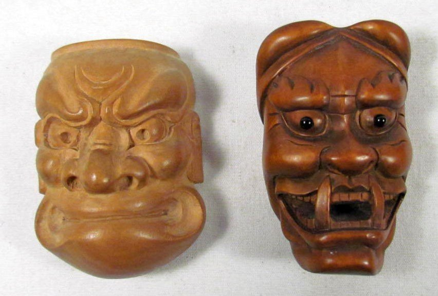 2: LOT OF 2 JAPANESE NETSUKE