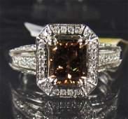 44A: 69263 - 14K WHITE GOLD LADIES DIAMOND RING - SIZE