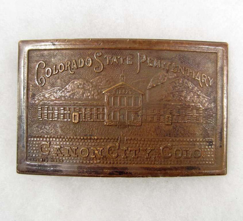 2: OLD WEST COLORADO STATE PENITENTIARY CANON CITY COLO