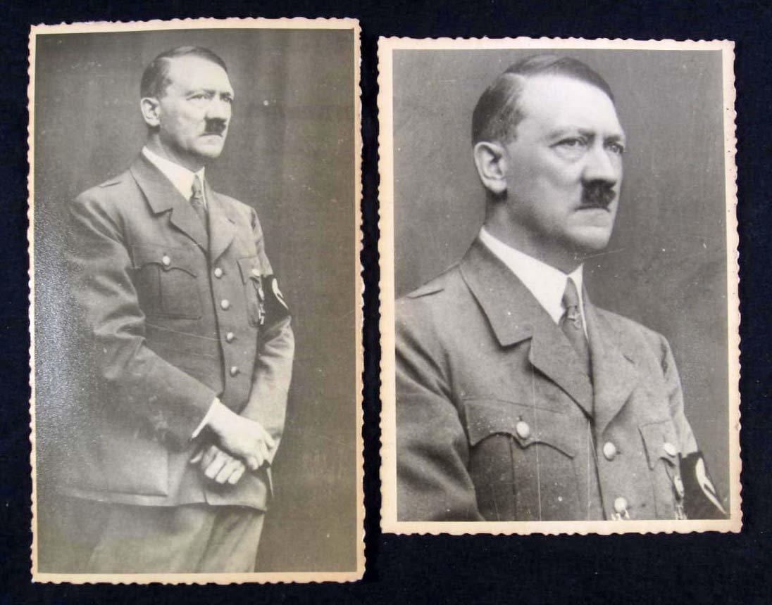 7: LOT OF 2 GERMAN NAZI ADOLF HITLER ARCHIVE PHOTOS