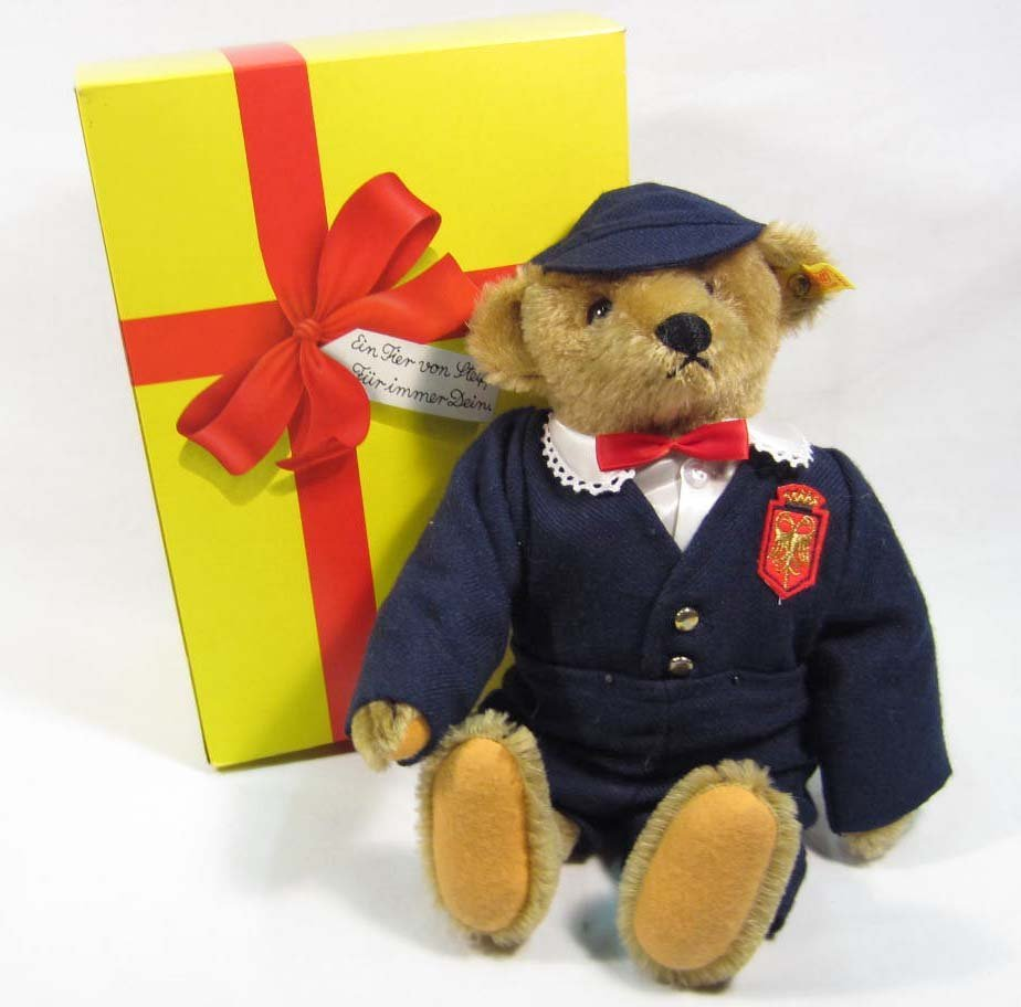 10: STEIFF TEDDY BEAR W/ ORIGINAL BOX