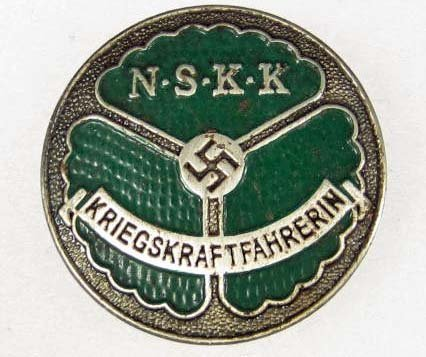 11: GERMAN NAZI NSKK DRIVER BADGE
