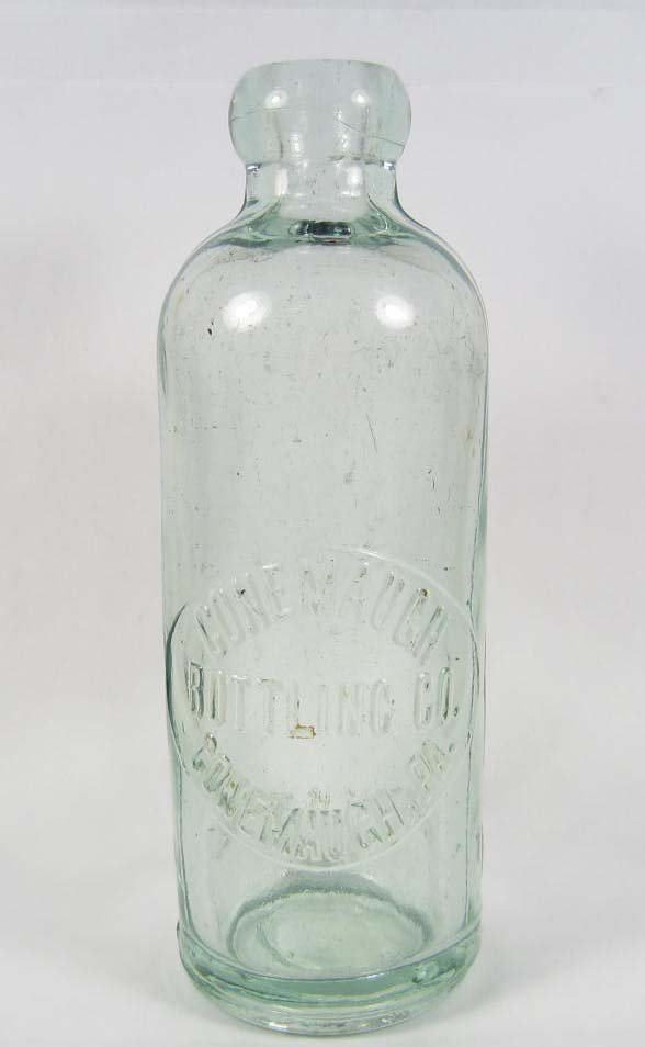 9: CONEMAUCH, PA BLOB TOP BOTTLE