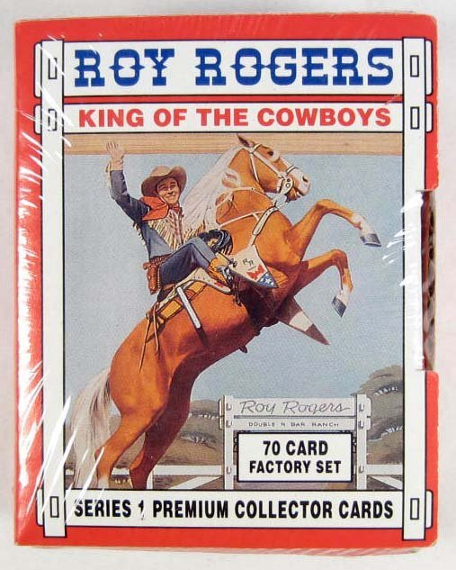 23: LIMITED EDITION ROY ROGERS COLLECTOR CARDS