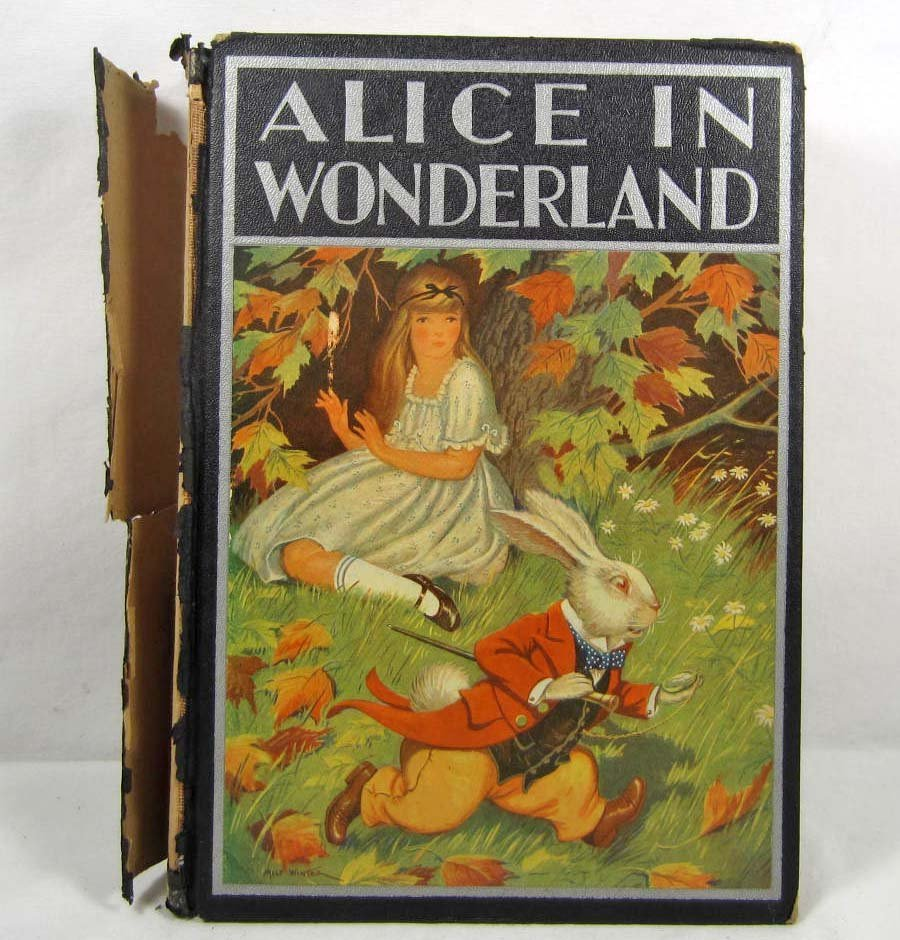 "14: 1916 ""ALICE IN WONDERLAND"" HARDCOVER BOOK"