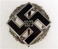 247 GERMAN NAZI ENAMELED GAU HONOR BADGE