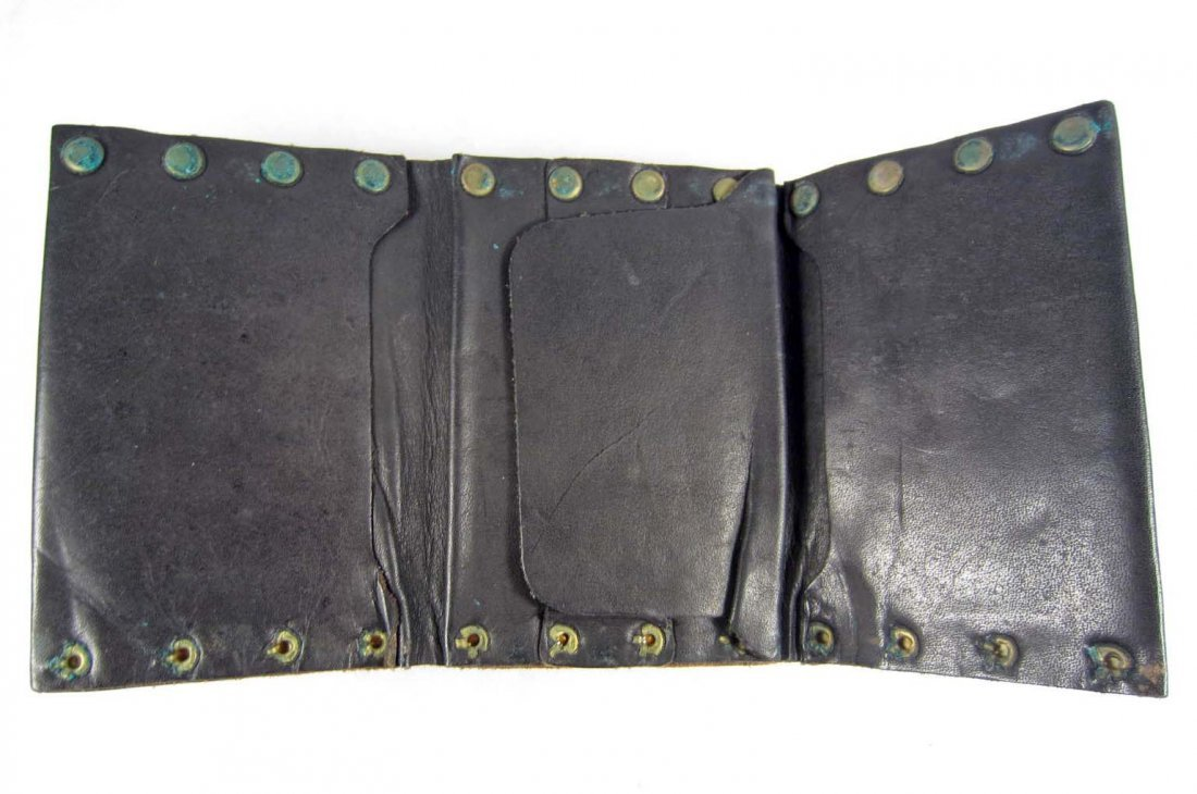 256: GERMAN NAZI ARMY OFFICERS LEATHER WALLET - 2