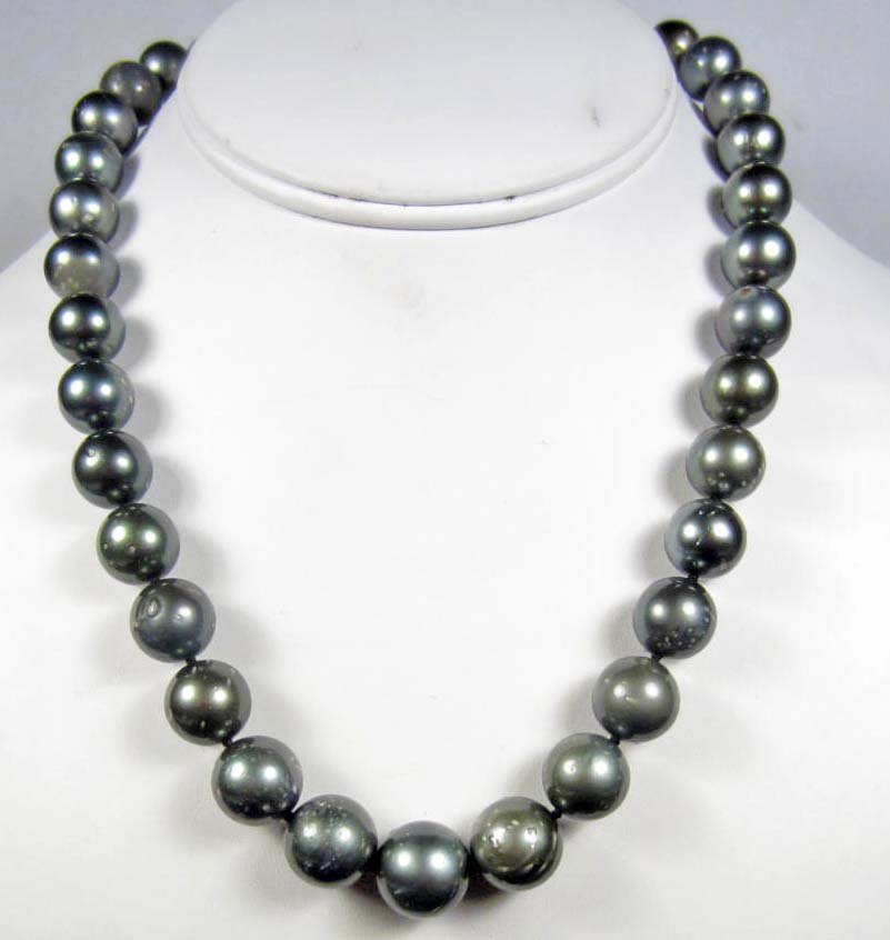 4: TAHITIAN SOUTH SEA CULTURED PEAR NECKLACE