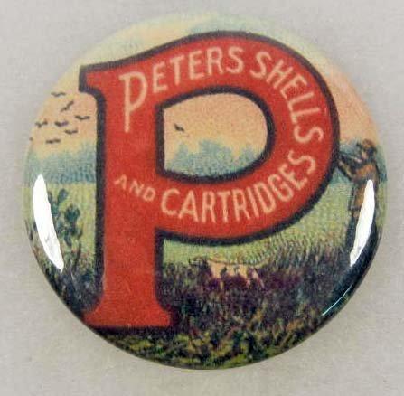 11: PETERS SHELLS & CARTRIDGES ADVERTISING POCKET MIRRO