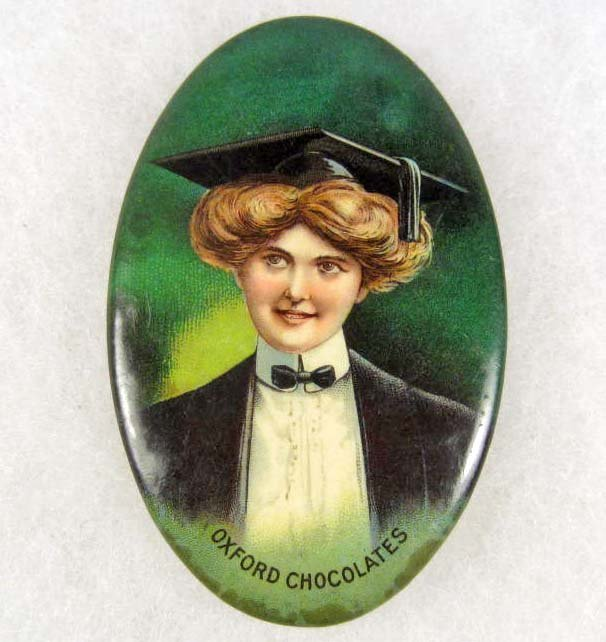 3: VINTAGE CELLULOID ADVERTISING  OVAL POCKET MIRROR FO