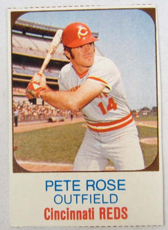 5: VINTAGE PETE ROSE BASE BALL CARD