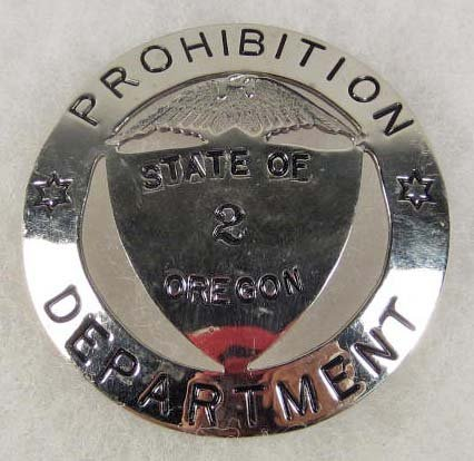 21: OBSOLETE PROHIBITION DEPARTMENT STATE OF OREGON NO.