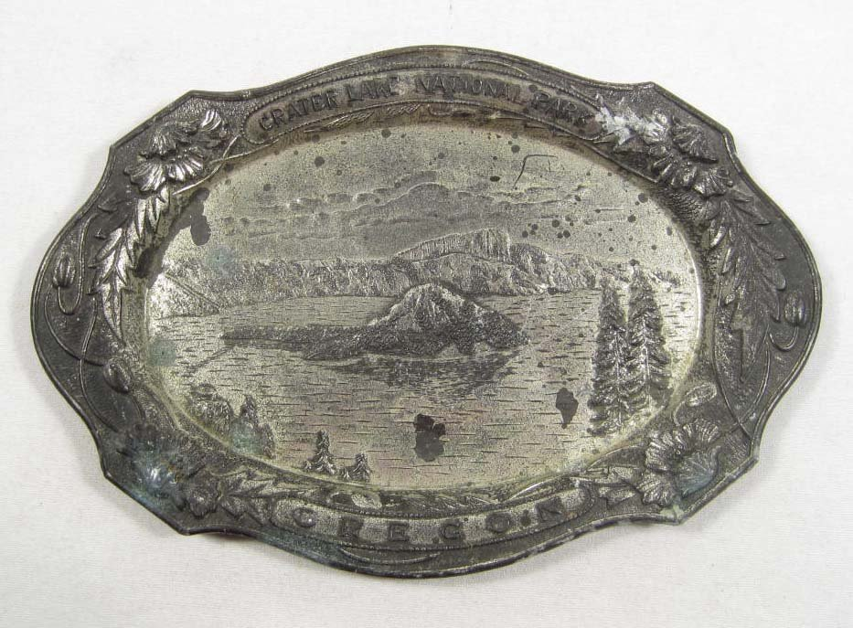 24: VINTAGE CRATER LAKE NATIONAL PARK TIP TRAY