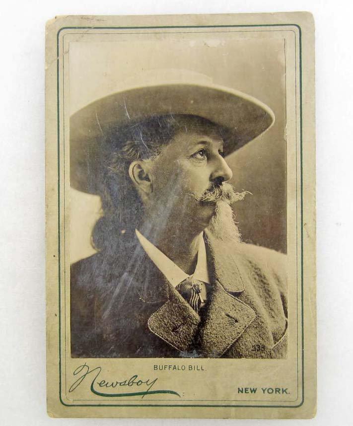 13: EARLY CABINET CARD PHOTO OF BUFFALO BILL CODY - NEW