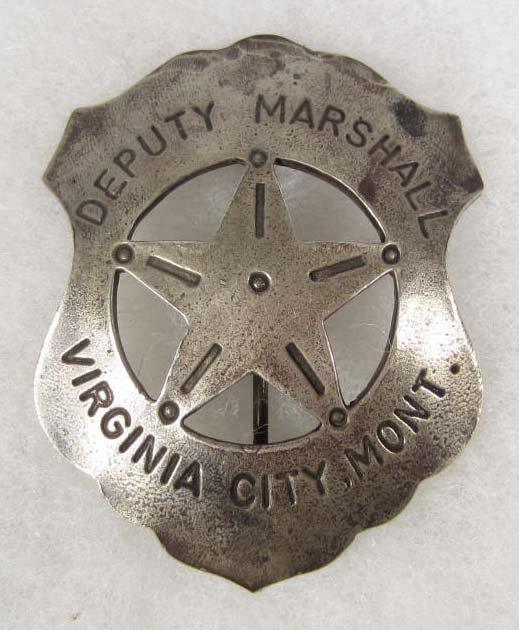 15: OLD WEST VIRGINIA CITY MONTANA DEPUTY MARSHAL COWBO