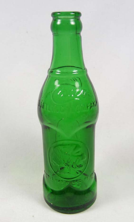 16: VINTAGE CASCO GLASS BOTTLE W/ INDIAN HEAD GRAPHIC