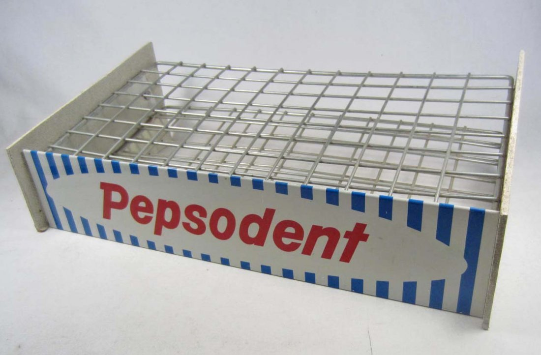 24: VINTAGE PEPSODENT TOOTHBRUSH ADVERTISING STORE COUN
