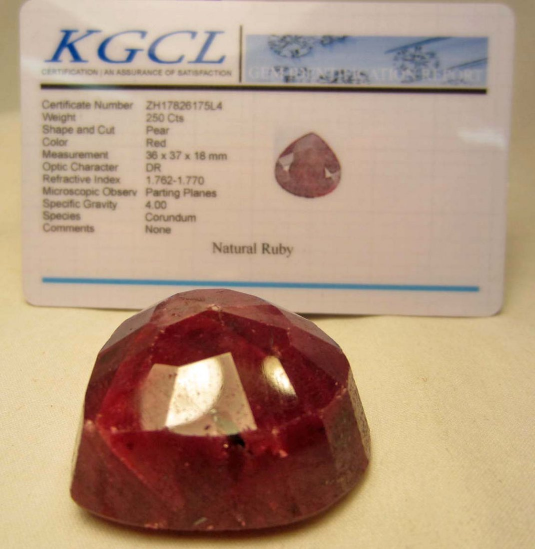 2: 250.00 CT. RUBY