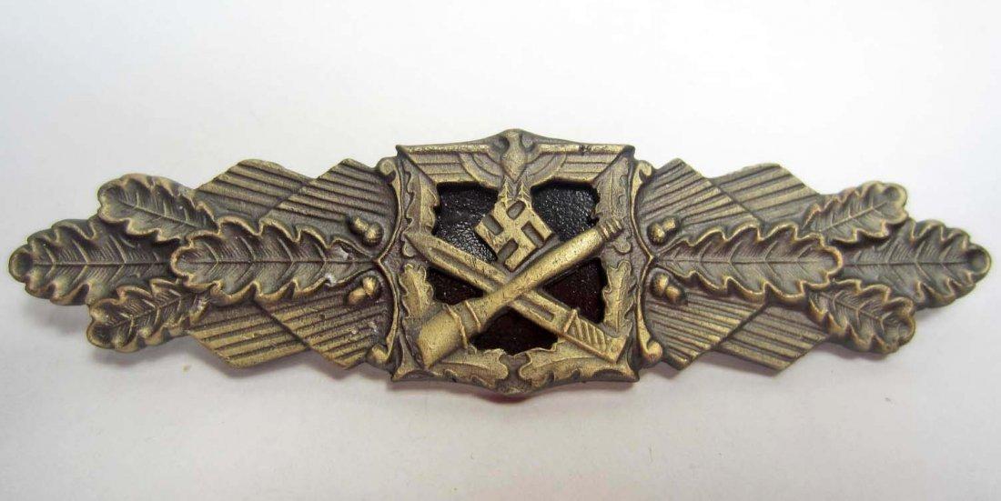 6: GERMAN NAZI ARMY GOLD CLOSE COMBAT CLASP