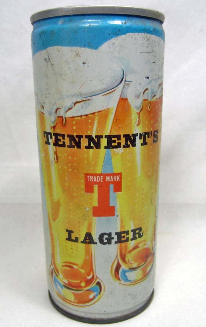 12: VINTAGE TENNENT'S LAGER BEER CAN